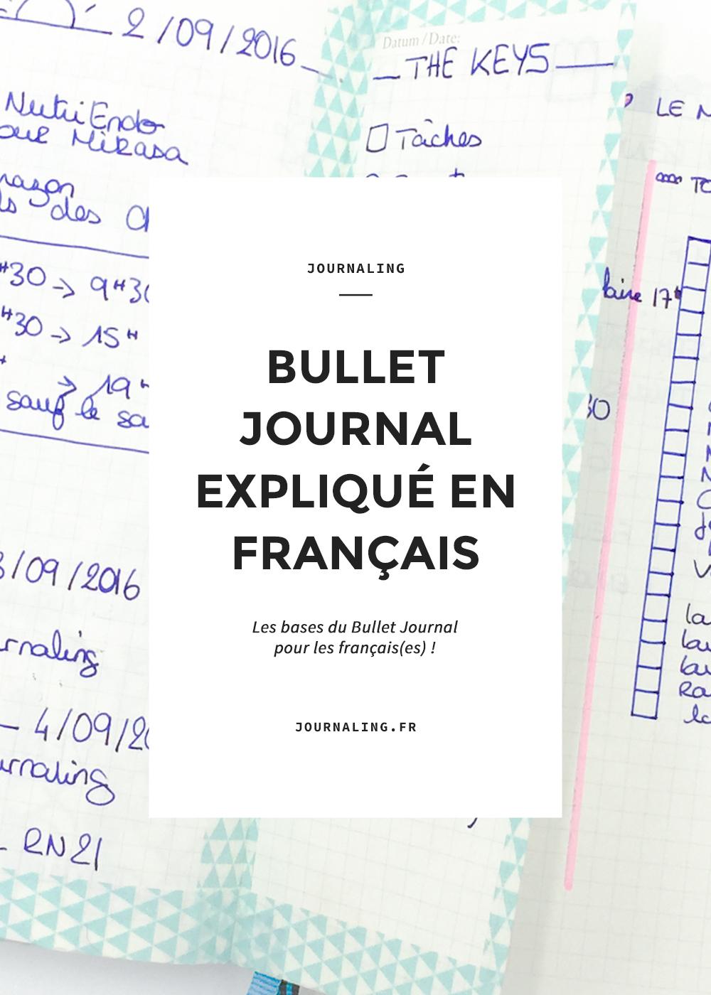 Bullet journal, le système d'organisation qui fait fureur!