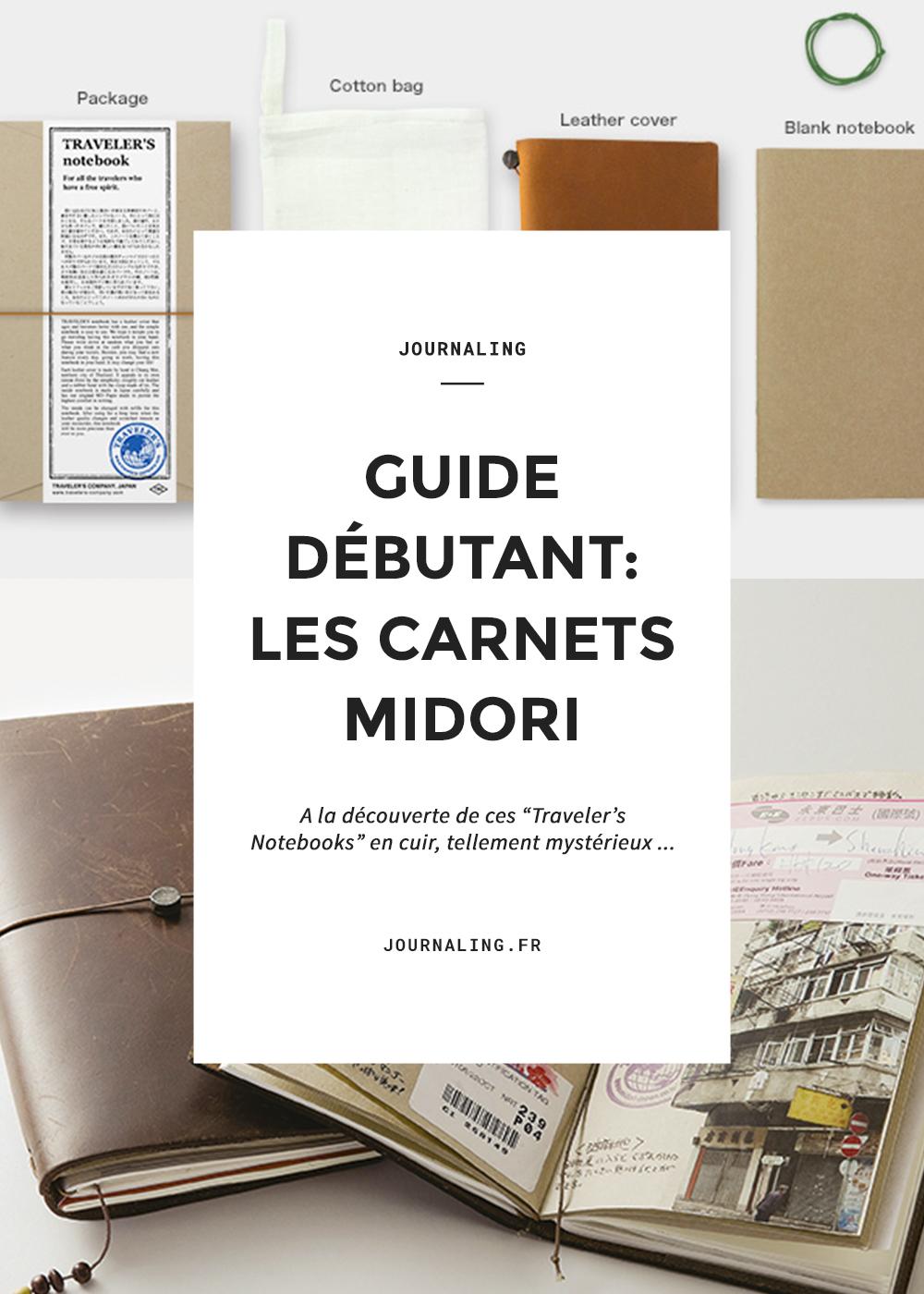 Midori planner: adorables carnets de voyage