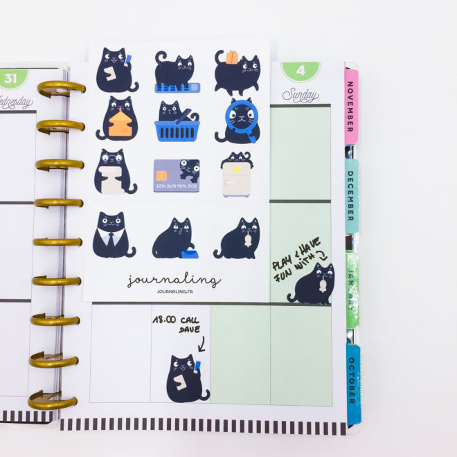 sticker-planner-chat-noir