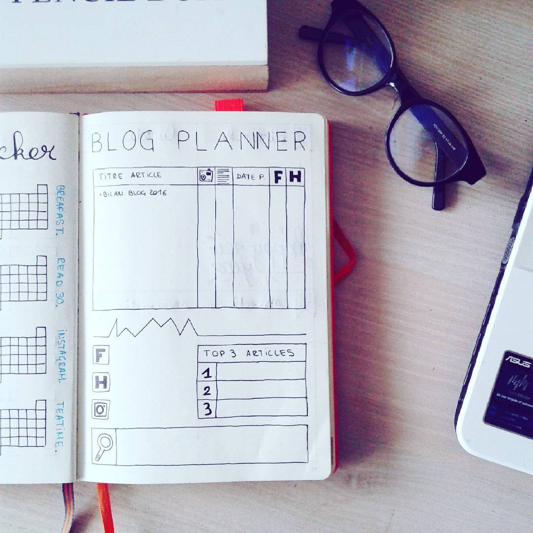blogueuse-bullet-journal