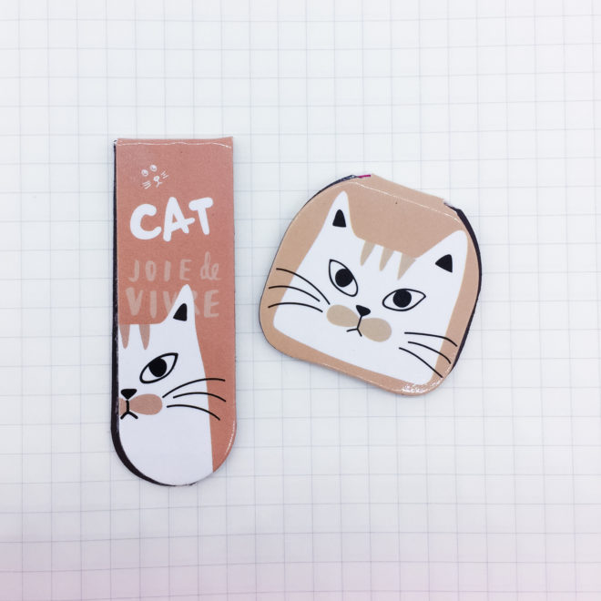 marque-page-chat-vieux-rose