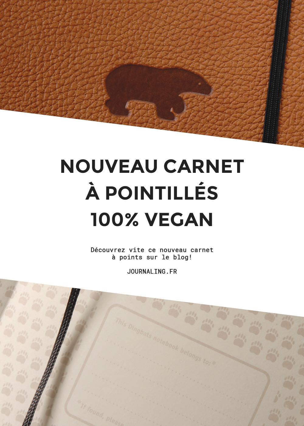 Un nouveau carnet pointillés pour votre Bullet Journal !