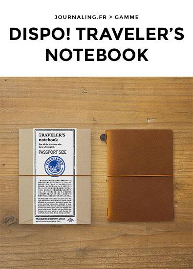 TRAVELER'S Notebook en France? C'est par ici !