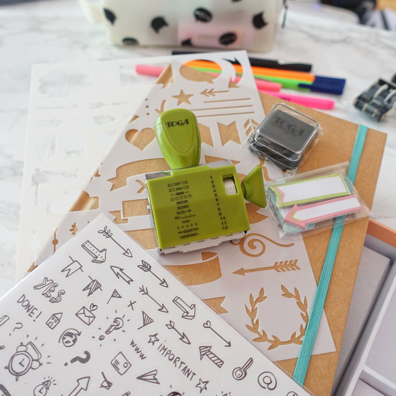 kit complet pour d marrer votre bullet journal. Black Bedroom Furniture Sets. Home Design Ideas