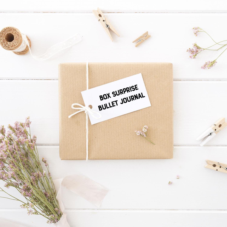 box surprise bullet journal