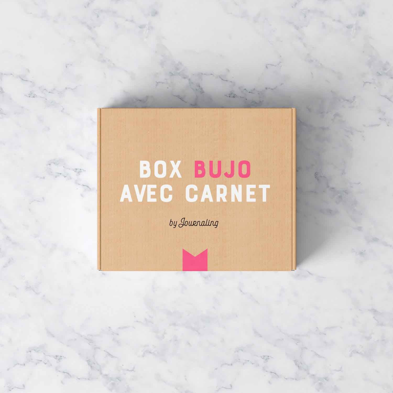 Box pour Bullet Journal® avec carnet.