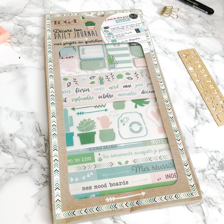 Kit d'accessoires BUJO et Planner / Mes projets au quotidien