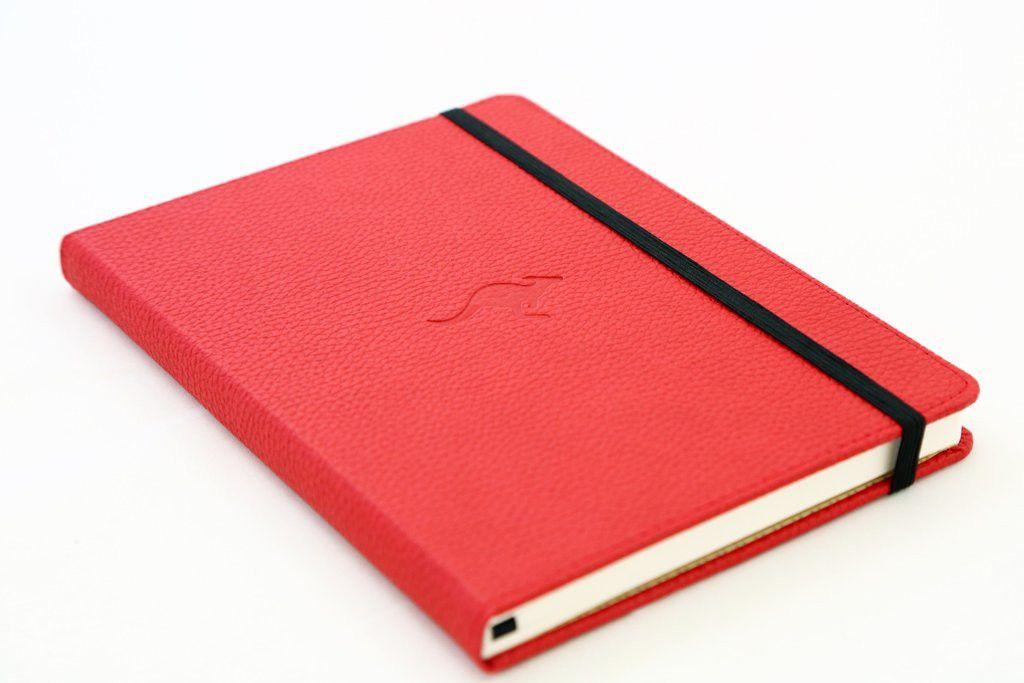 carnet dingbats rouge