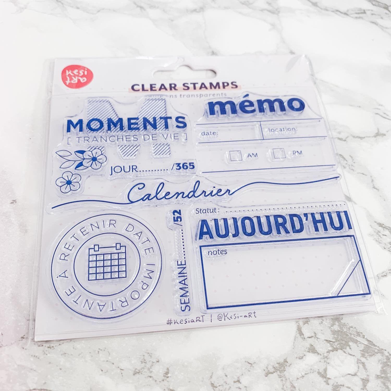 Clear stamps spécial Bullet Journal® : Mémo
