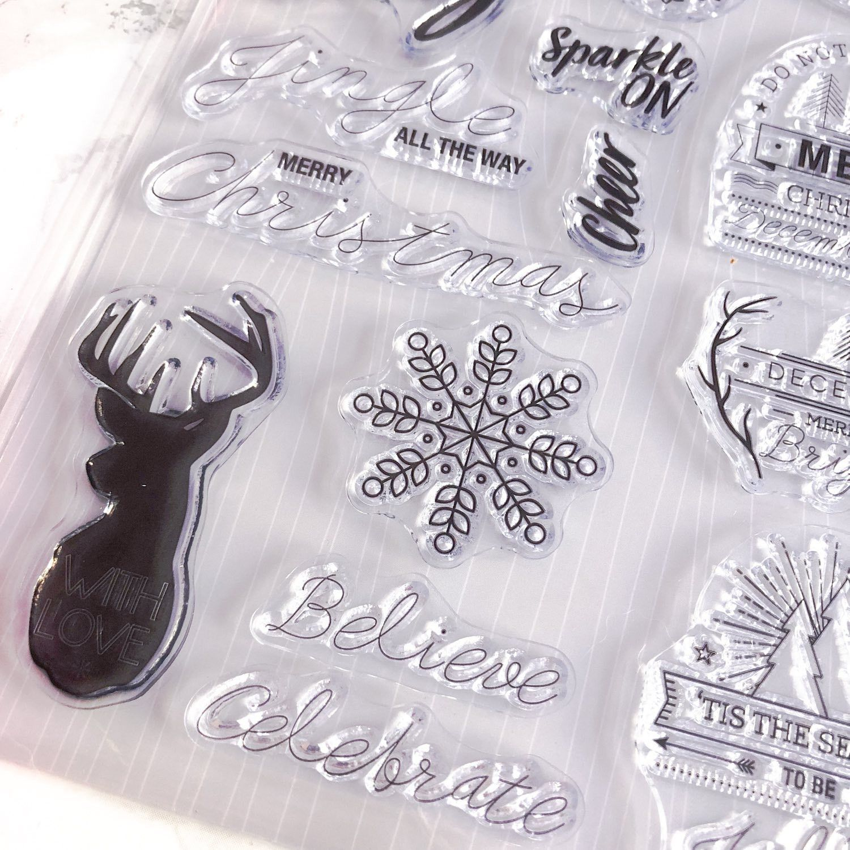 Clear Stamps de Noël