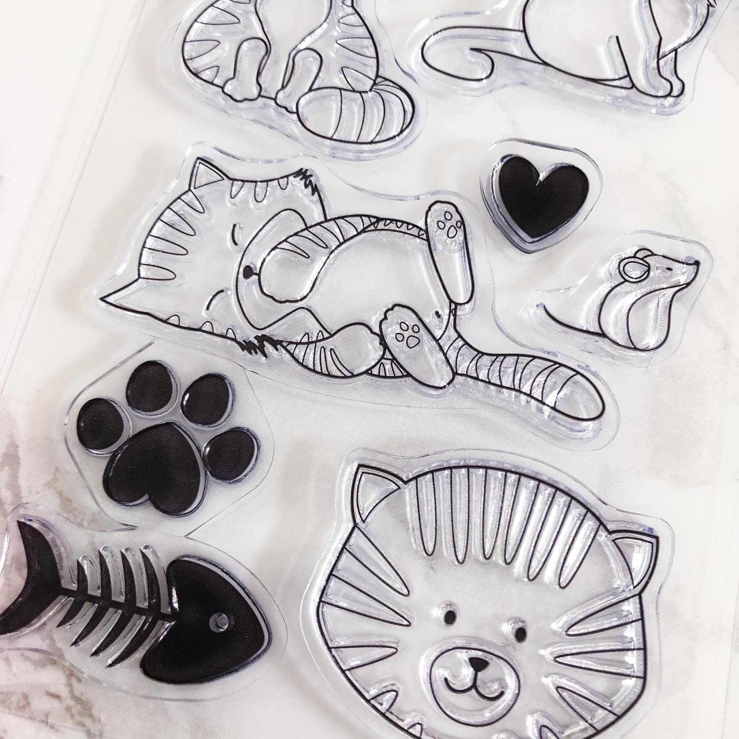 Clear Stamps - Chatons mignons