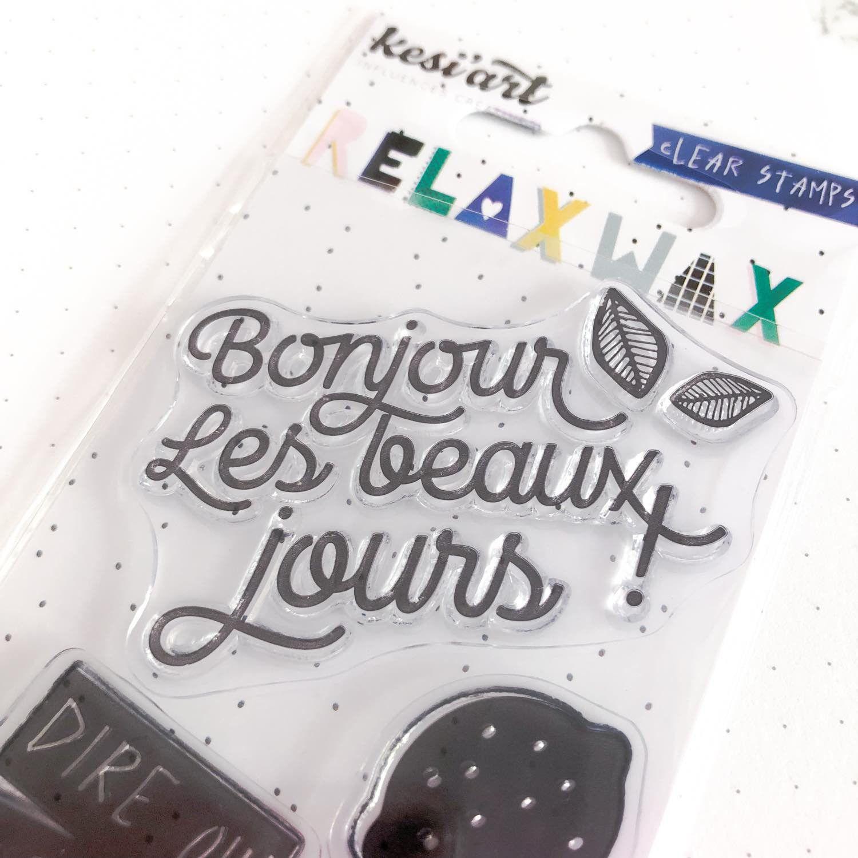 Clear Stamps - Bonjour les beaux jours!
