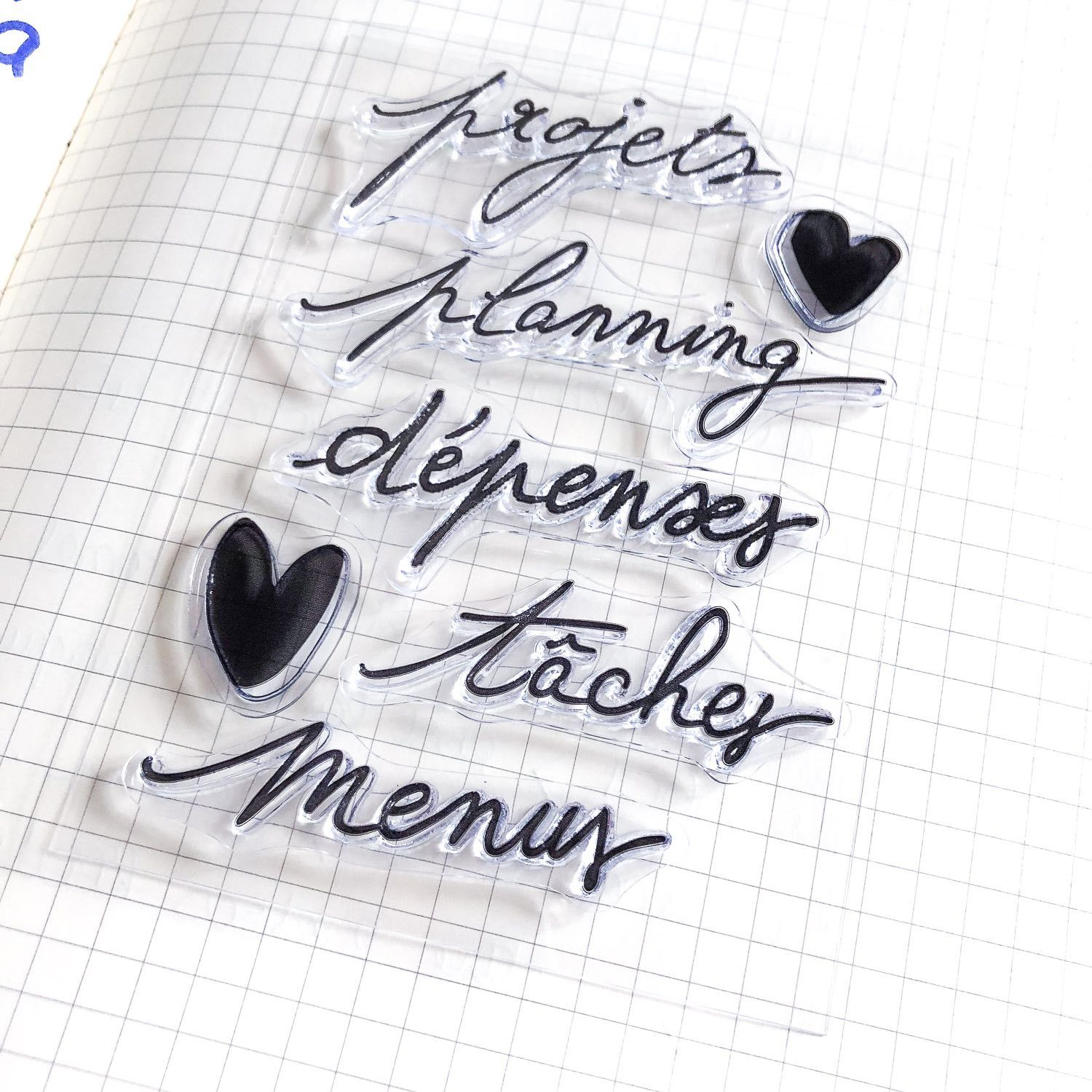 clear stamps projets