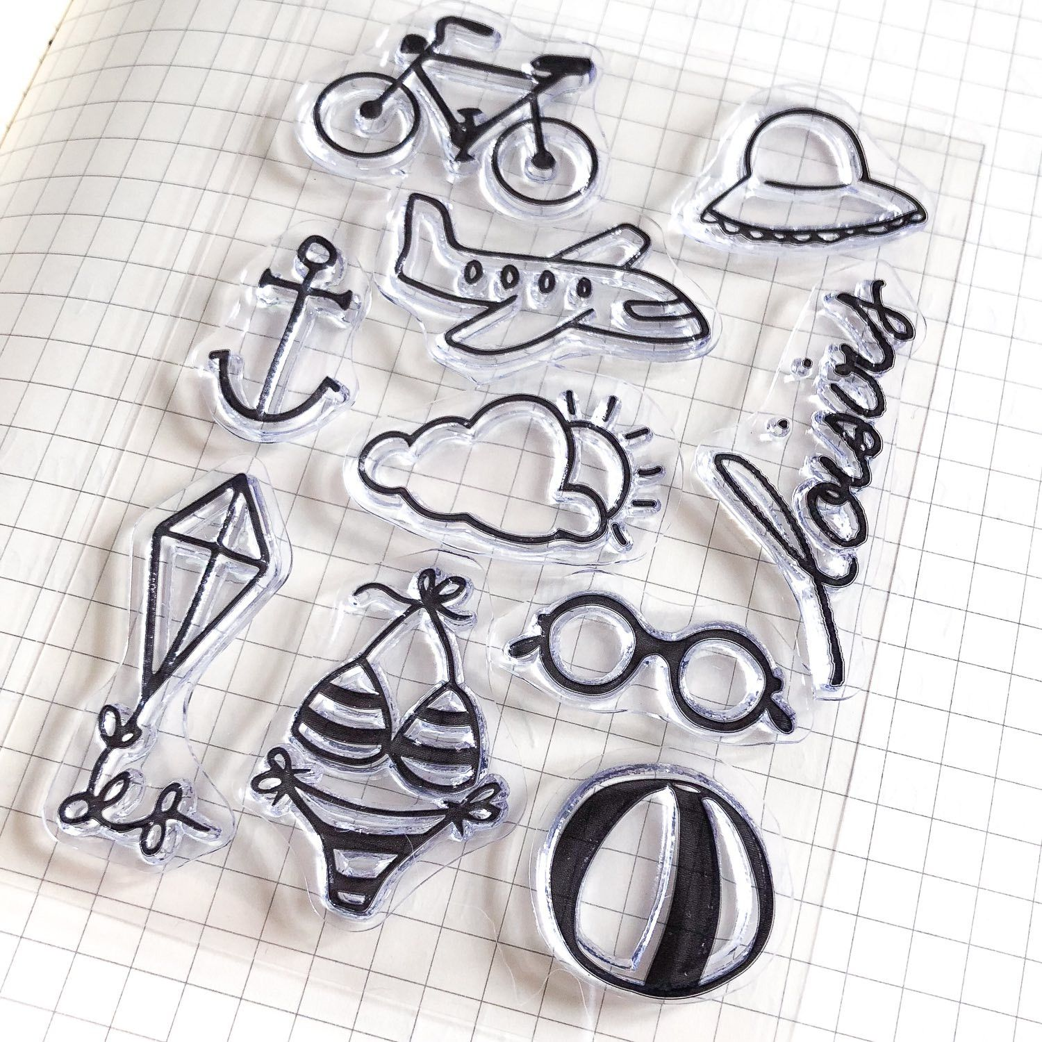 clear stamps loisirs