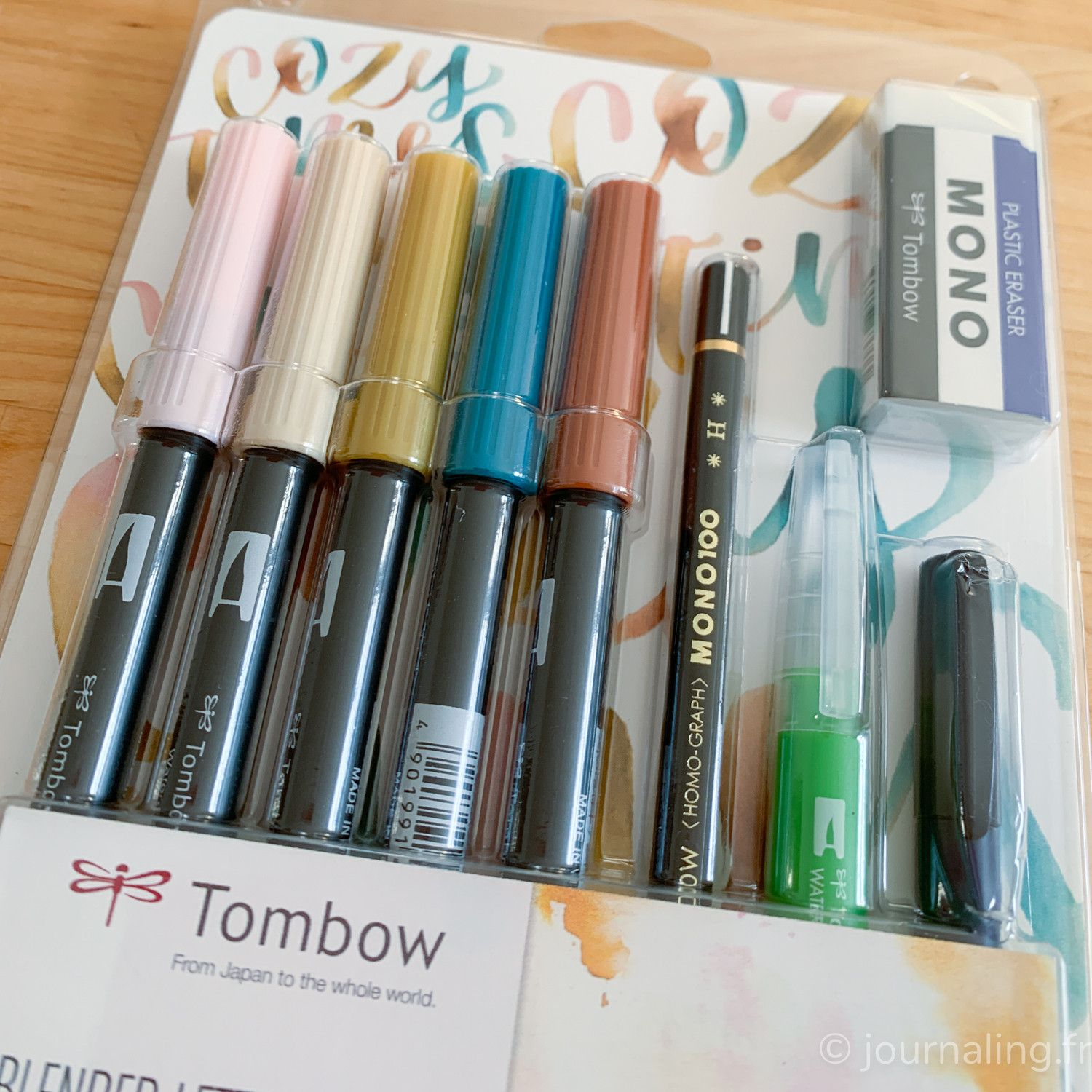 Tombow - Kit Blended lettering Cozy times