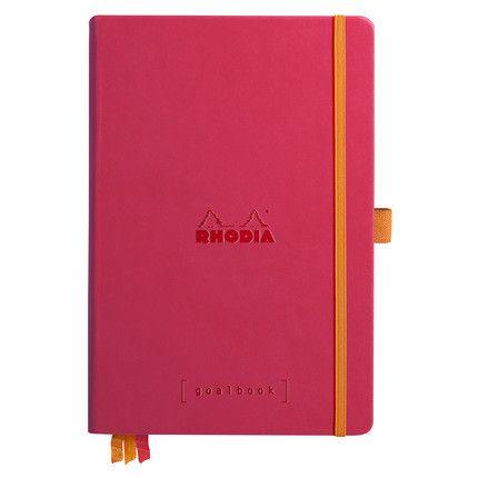 Rhodia Goalbook couverture rigide / Framboise