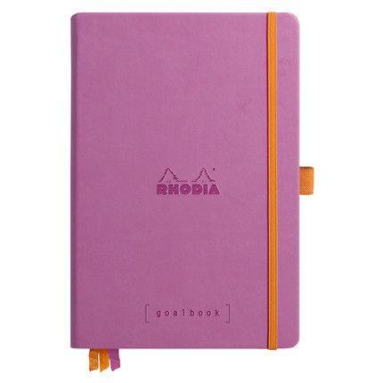 Rhodia Goalbook couverture rigide / Lilas