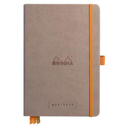Rhodia Goalbook couverture rigide / Taupe