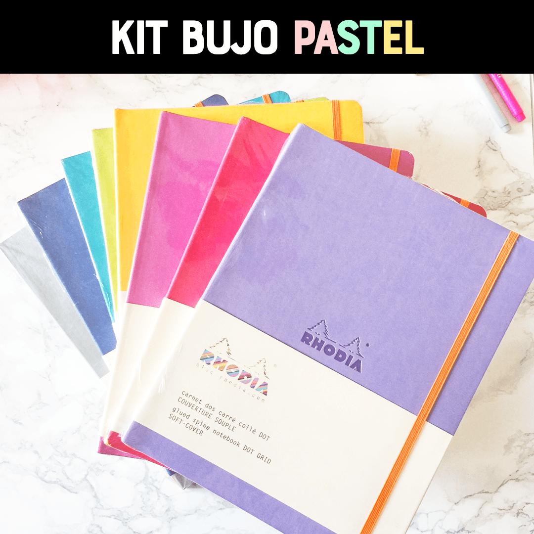 Kit Bullet Journal®: Pastel