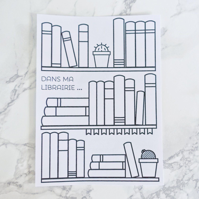 Sticker Pleine Page Livres