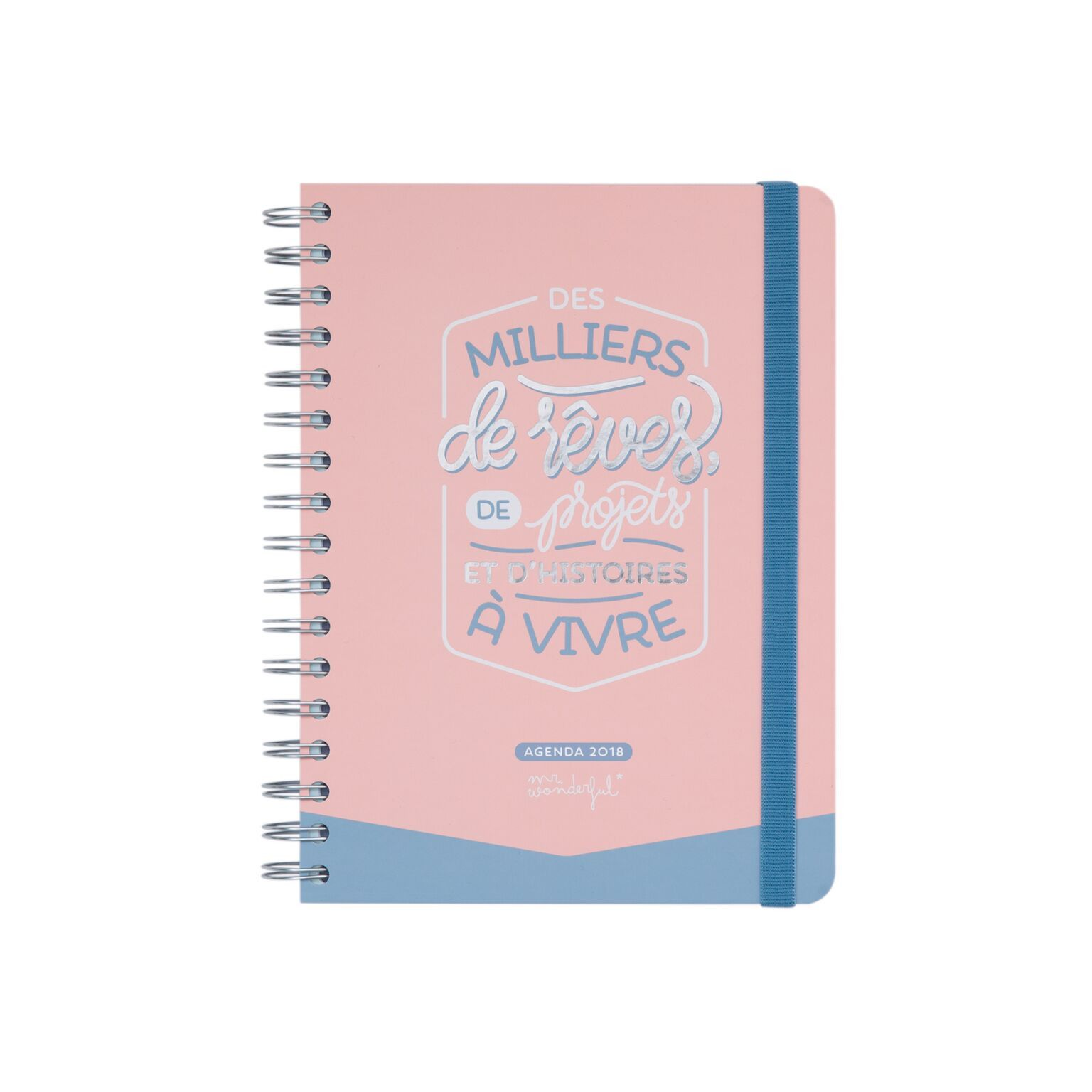 Agenda journalier mr wonderful 2017 2018 - Mr wonderful agenda 2017 ...
