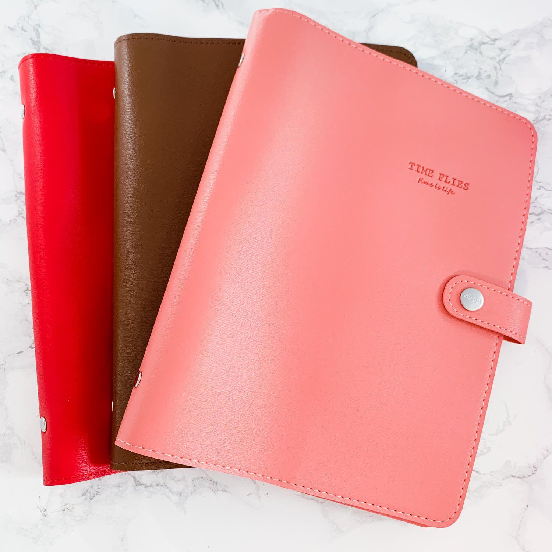 Planner A5, couverture souple en simili-cuir, qualité premium