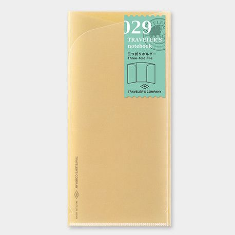 Recharge Traveler's Notebook 029 (pochette pour feuille A4)