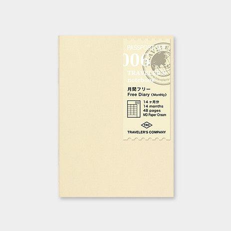 Traveler's Notebook 006 midori
