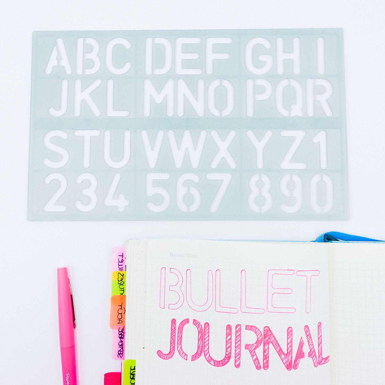 regle geante bullet journal