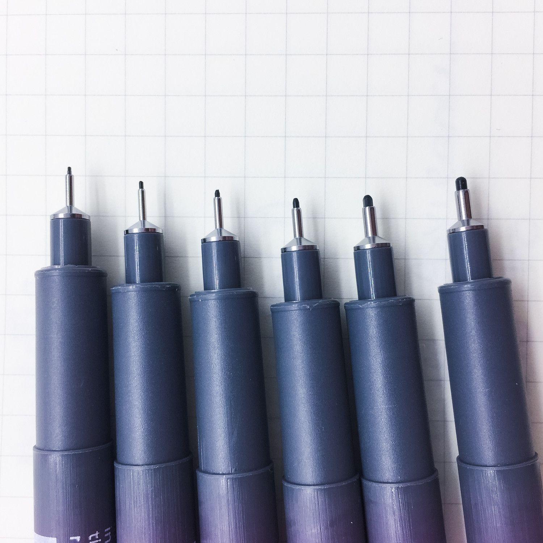 Stylo feutre pigment liner feutre professionnel parfait for Feutre pour piscine liner