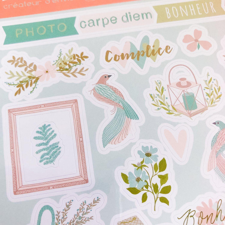 stickers  planner féminin