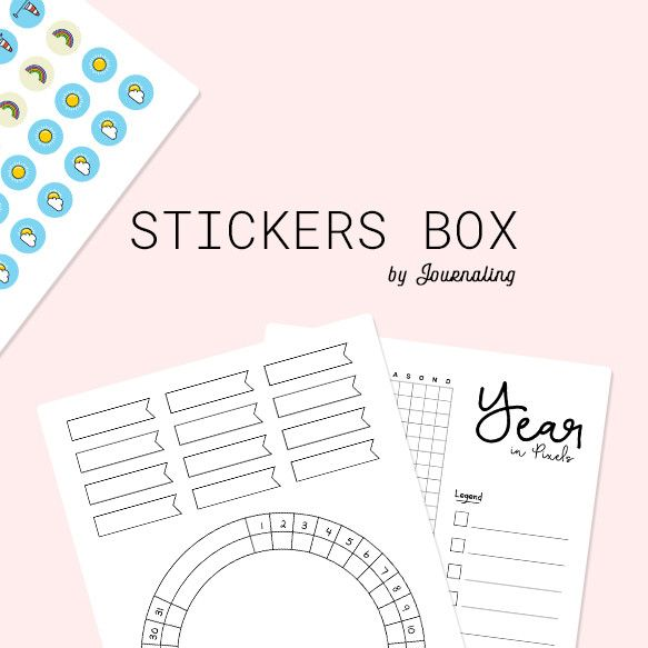 stickers box dons