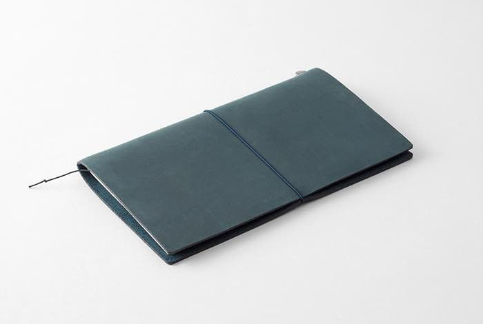 traveler's notebook cuir bleu nuit