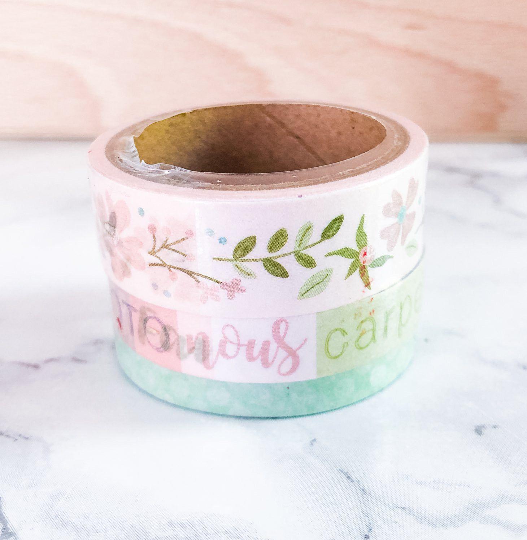 masking tape pastel