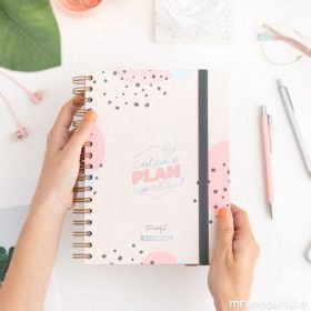 Agenda scolaire Mr Wonderful, planner journalier 2019/2020