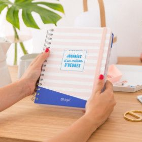 Agenda scolaire Mr Wonderful, planner journalier  2018/2019