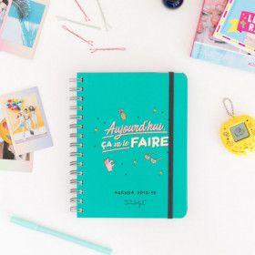 Agenda Sketch Mr Wonderful, semainier façon BUJO tout fait, pour 2018/2019