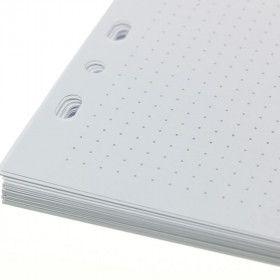 Recharge pointillés pour Bullet Journal amovible / 48 feuilles