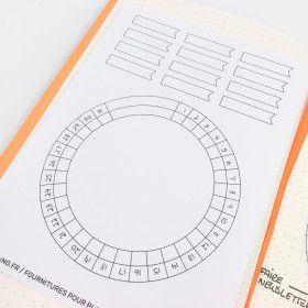 Sticker Calendar Wheel - tous les jours du mois