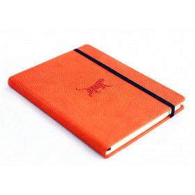 Carnet pointillés Dingbats* Wildlife orange