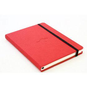 Carnet pointillés Dingbats* Wildlife rouge