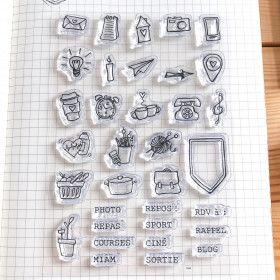 Clear Stamps Vie de tous les jours