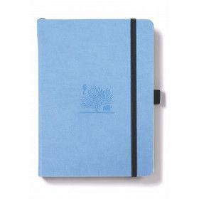 Carnet Dingbats* Earth, édition Bullet Journal, bleu