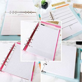 5 recharges pour planner A5, Journaling®