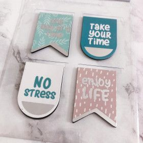 Marque-page magnétique No Stress