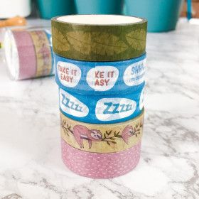 Washi Tape 25 mètres, No Stress