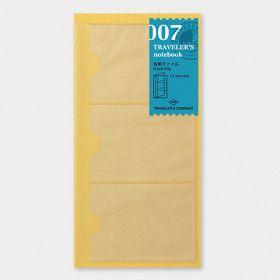 Recharge Traveler's Notebook - Midori 007 (pochette cartes)