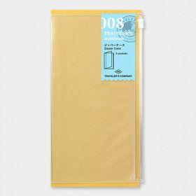 Recharge Traveler's Notebook - Midori 008 (pochette zippée)