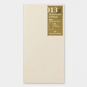 Recharge Traveler's Notebook - Midori 013 (papier dessin léger)