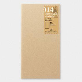 Recharge Traveler's Notebook - Midori 014 (papier Kraft)